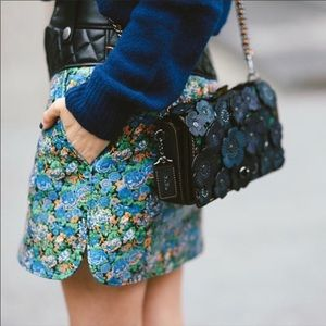 $895 NWT Coach Floral Skirt